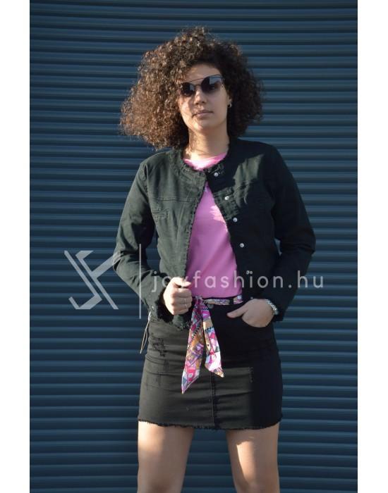 Műbőr dzseki Joy Fashion Webáruház